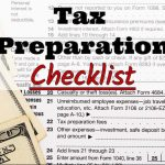 San Diego Tax Center's 2017 Tax Preparation Checklist